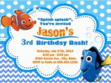 Nemo Birthday Party Invitations 66 Best Images About Nemo Party On Pinterest Birthdays