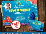 Nemo Birthday Party Invitations Finding Dory Invitation Finding Dory Invite Printable