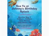 Nemo Birthday Party Invitations Finding Nemo Birthday Invitation 4 25 Quot X 5 5 Quot Invitation