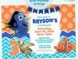 Nemo Birthday Party Invitations Finding Nemo Birthday Invitation Finding Nemo Dory