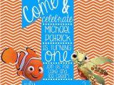 Nemo Birthday Party Invitations Finding Nemo Birthday Invitations Oxsvitation Com