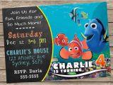 Nemo Birthday Party Invitations Finding Nemo Invitation Finding Nemo Invite Finding Nemo