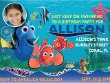 Nemo Birthday Party Invitations Finding Nemo Invitations