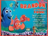 Nemo Birthday Party Invitations Finding Nemo Personalized Birthday thenotecardlady