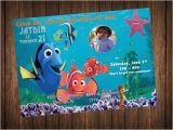 Nemo Birthday Party Invitations Items Similar to Finding Nemo Invitation Printable
