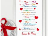 Next Day Birthday Gifts for Him Details About Personalised First Wedding Anniversary Gift