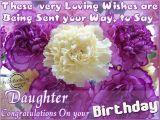 Nice Birthday Flowers 52 Cute Daughter Birthday Wishes Stock Golfian Com