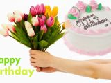 Nice Birthday Flowers Birthday Flowers and Cake with Nice Quote Hd Images Hd