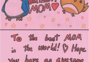 Nice Sayings For Birthday Cards Happy Mom Quotes