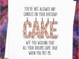 Nice Things to Write In A Birthday Card for Girlfriend Funny Boyfriend or Girlfriend Birthday Card Wtf Blank