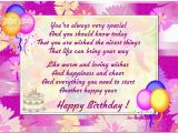 Nice Words for A Birthday Card Birthday Cards for son From Mother Good Birthday Card