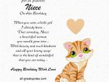 Niece Birthday Cards for Facebook Birthday Card for Niece Quotes Quotesgram