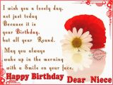 Niece Birthday Cards for Facebook Happy Birthday Niece Quotes Quotesgram