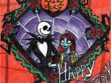 Nightmare before Christmas Birthday Card G Happy Tim Burton Birthday by Ankoku Sensei On Deviantart
