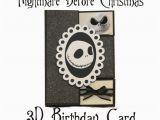 Nightmare before Christmas Birthday Card Nightmare before Christmas Birthday Shutter by