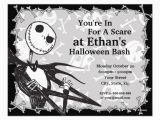 Nightmare before Christmas Birthday Invitation Template Nightmare before Christmas Invitations Christmas Decorating