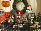 Nightmare before Christmas Birthday Party Decorations Nightmare before Christmas Party Ideas Lynlees