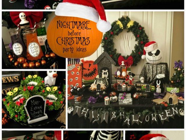 Nightmare Before Christmas Birthday Party Ideas.Nightmare Before Christmas Birthday Party Decorations