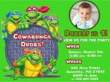 Ninja Turtle Birthday Invite Free Printable Ninja Turtle Birthday Party Invitations