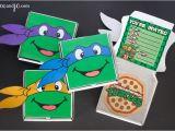 Ninja Turtle Birthday Invite Teenage Mutant Ninja Turtles Party Favors and Invitations