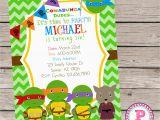 Ninja Turtle Birthday Invites Free Printable Ninja Turtle Birthday Invitations