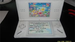 Nintendo Ds Birthday Party Invitations Inside 39 Mario Party 9 39 Birthday Party Invitation Made to