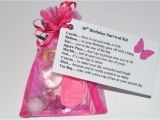 Novelty Birthday Gifts for Her 30 40 50 60th Birthday Survival Kit Novelty Gift Card