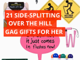 Novelty Birthday Gifts for Her Over the Hill Gag Gifts for Her Over the Hill Gifts