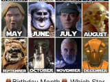 November Birthday Memes 25 Best Memes About Star Wars Character Star Wars