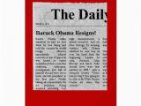 Obama Birthday Cards Obama Birthday Card Luxury Obama Resigns Holiday Christmas