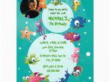 Ocean themed Birthday Invitations Ocean theme Children 39 S Birthday Party Invitation 4 25 Quot X 5