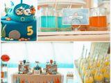 Octonauts Birthday Decorations Kara 39 S Party Ideas Octonauts Party