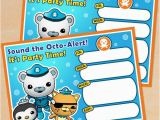 Octonauts Birthday Invites Free Octonauts Party Printables Little Wish Parties