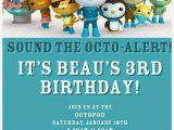Octonauts Birthday Invites Octonauts Birthday Invitations Invitation Librarry
