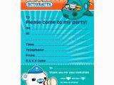 Octonauts Birthday Invites Octonauts Invitations This Party Started