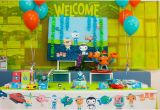 Octonauts Birthday Party Decorations Octonauts Party Ideas Party Blog by Easy Breezy Parties