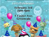 Octonauts Birthday Party Invitations Items Similar to Girls Octonauts Invite Girls Birthday