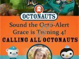 Octonauts Birthday Party Invitations Moments that Take My Breath Away Grace 39 S 4th Birthday