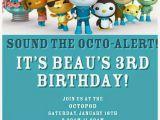 Octonauts Birthday Party Invitations Octonauts Birthday Invitations Invitation Librarry