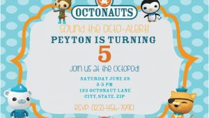 Octonauts Birthday Party Invitations Octonauts Birthday Party Invitations Cimvitation