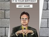 Office Birthday Card American Office Birthday Card Dwight Schrute Fan Art