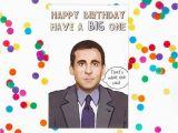 Office Birthday Card Michael Scott the Office Tv Show Birthday Card Dwight