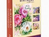Office Birthday Cards Bulk 12 Boxed Birthday Greeting Cards Celebrate Niv