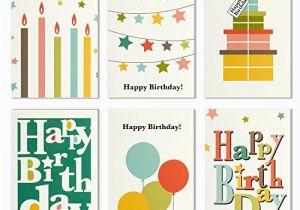 Office Birthday Cards Bulk 48 Pack Blank Happy Greeting Box Set