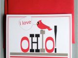 Ohio State Birthday Card Items Similar to Ohio Greeting Card Ohio State Greeting