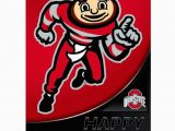 Ohio State Birthday Card Ohio State Buckeyes Greeting Card Birthday 8 Bucknut