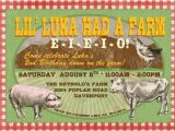 Old Macdonald Had A Farm Birthday Invitations Items Similar to Farm Party Invite Old Macdonald Had A
