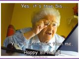 Older Sister Birthday Meme Funny Birthday Memes for Dad Mom Brother or Sister