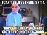 Older Sister Birthday Meme Happy Birthday Sister Meme and Funny Pictures