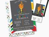 Olympic Birthday Party Invitations Olympic Party Invitation Olympic Party Invitation Printable